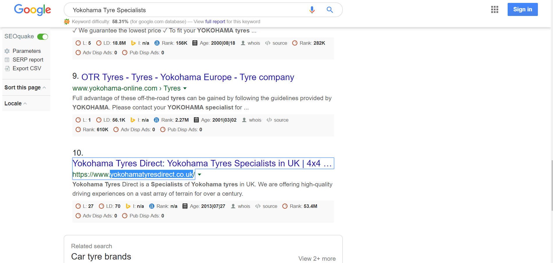Yokohama Tyre Specialists